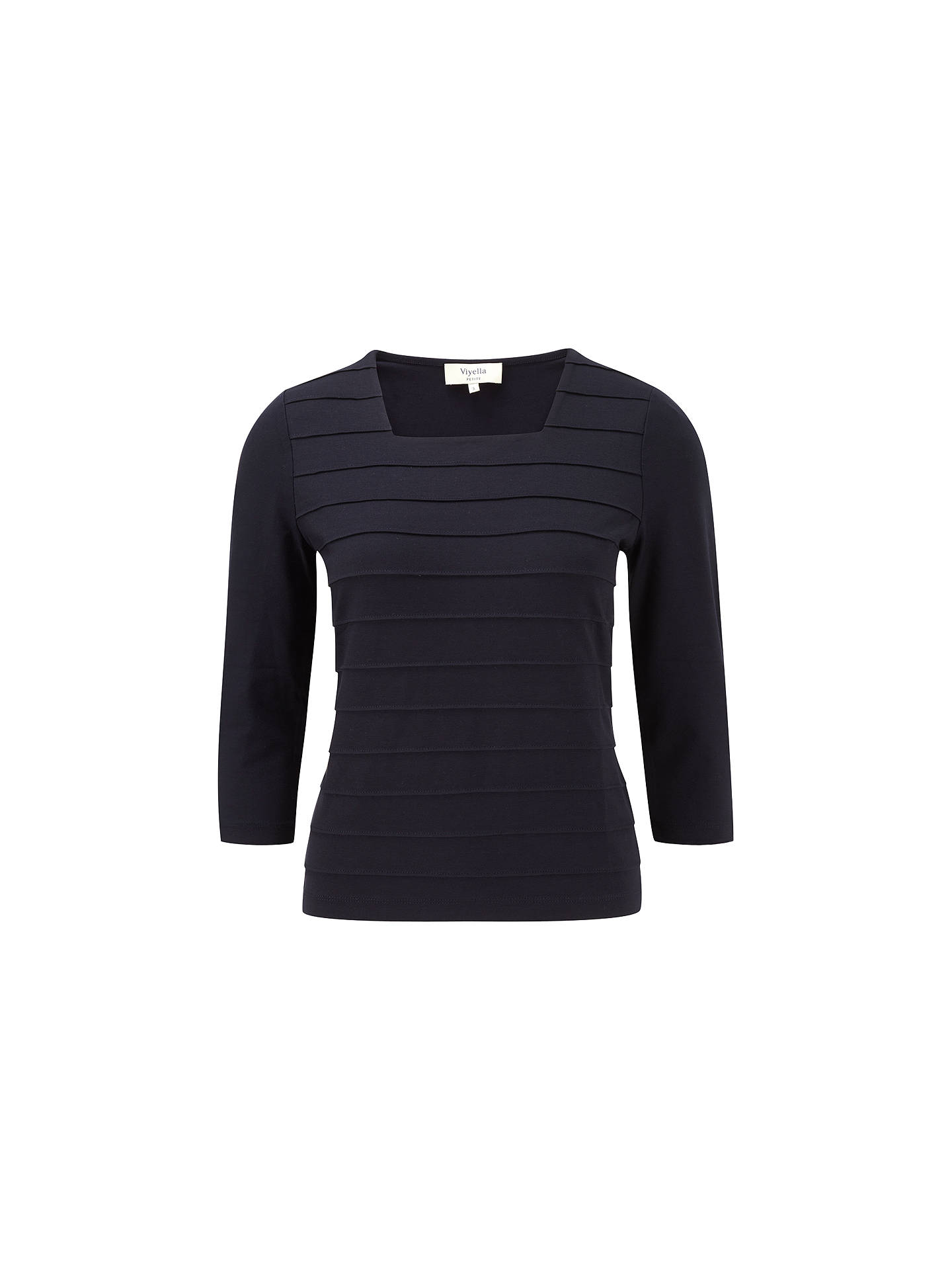 Viyella Petite Jersey Top Navy At John Lewis Partners