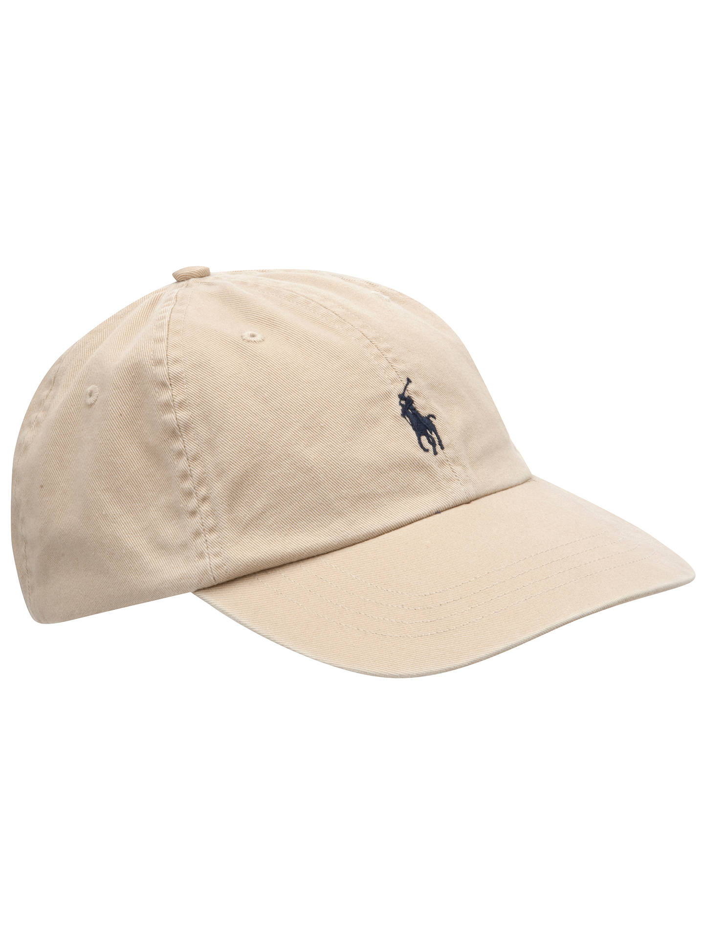 25d27fb2 Buy Polo Ralph Lauren Signature Pony Baseball Cap, One Size, Stone Online  at johnlewis ...