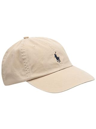 Polo Ralph Lauren Signature Pony Baseball Cap, One Size