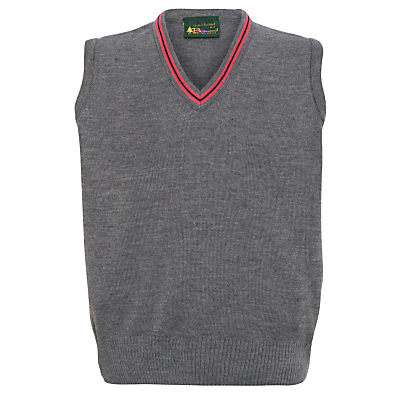 Product photo of Lochinver house school boys slipover grey pink
