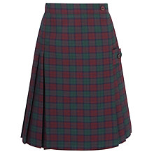 Buy The Red Maids' Junior School Girls' Kilt, Tartan Online at johnlewis.com