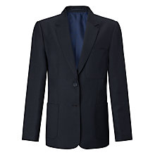 Buy John Lewis Girls' School Eco Blazer, Navy Online at johnlewis.com