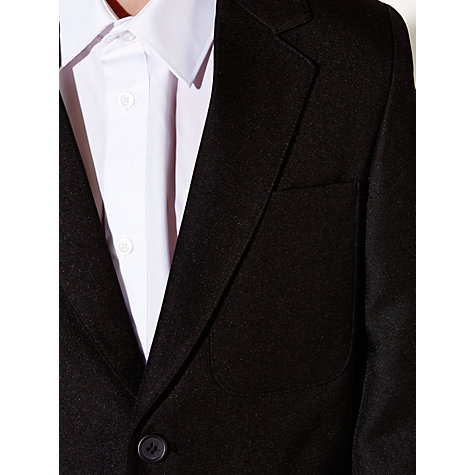 Buy John Lewis Boys' School Eco Blazer, Black Online at johnlewis.com