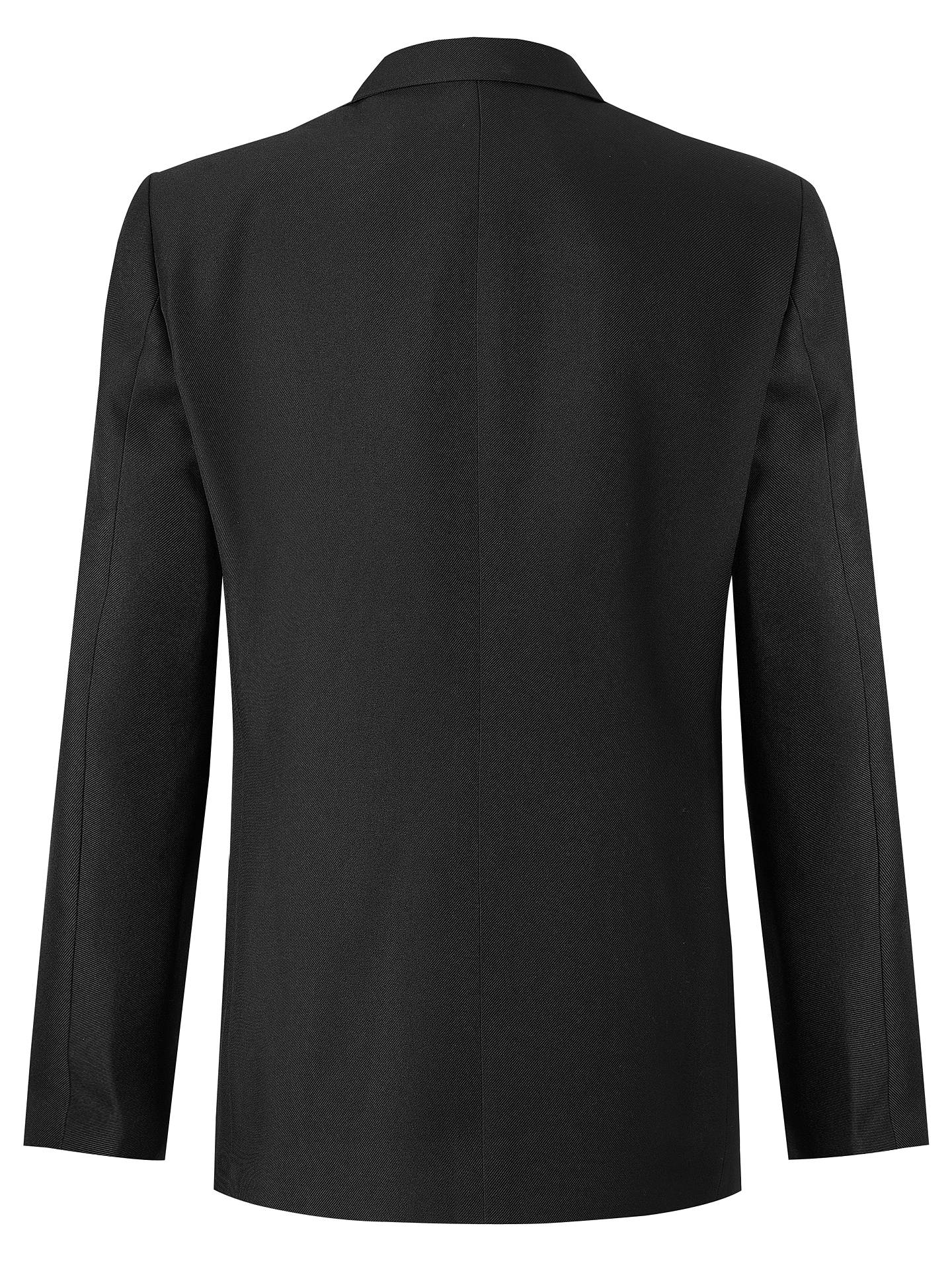 "Buy John Lewis & Partners Girls' School Eco Blazer, Black, Chest 22"" / 3-4 years Online at johnlewis.com"