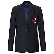 Buy Bourton Meadow Academy Girls' Blazer, Navy Online at johnlewis.com