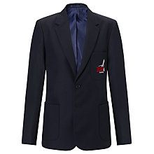 Buy Bourton Meadow Academy Boys' Blazer, Navy Online at johnlewis.com