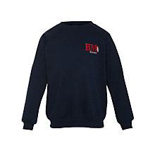 Buy Bourton Meadow Academy Unisex Sweatshirt, Navy Online at johnlewis.com
