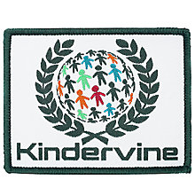 Buy Kindervine Day Nursery Blazer Badge, Multi Online at johnlewis.com