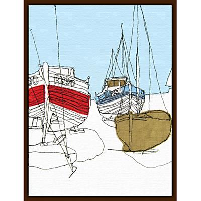 Gillian Bates – Boats on the Shore