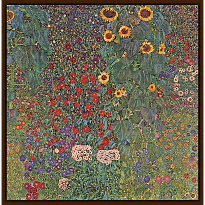 Gustav Klimt – Farm Garden with Sunflowers