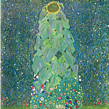 Buy Gustav Klimt - The Sunflower Online at johnlewis.com