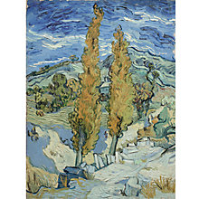 Buy Van Gogh - The Poplars at Saint Remy Online at johnlewis.com