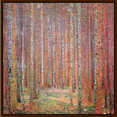 Gustav Klimt – Tannenwald 1