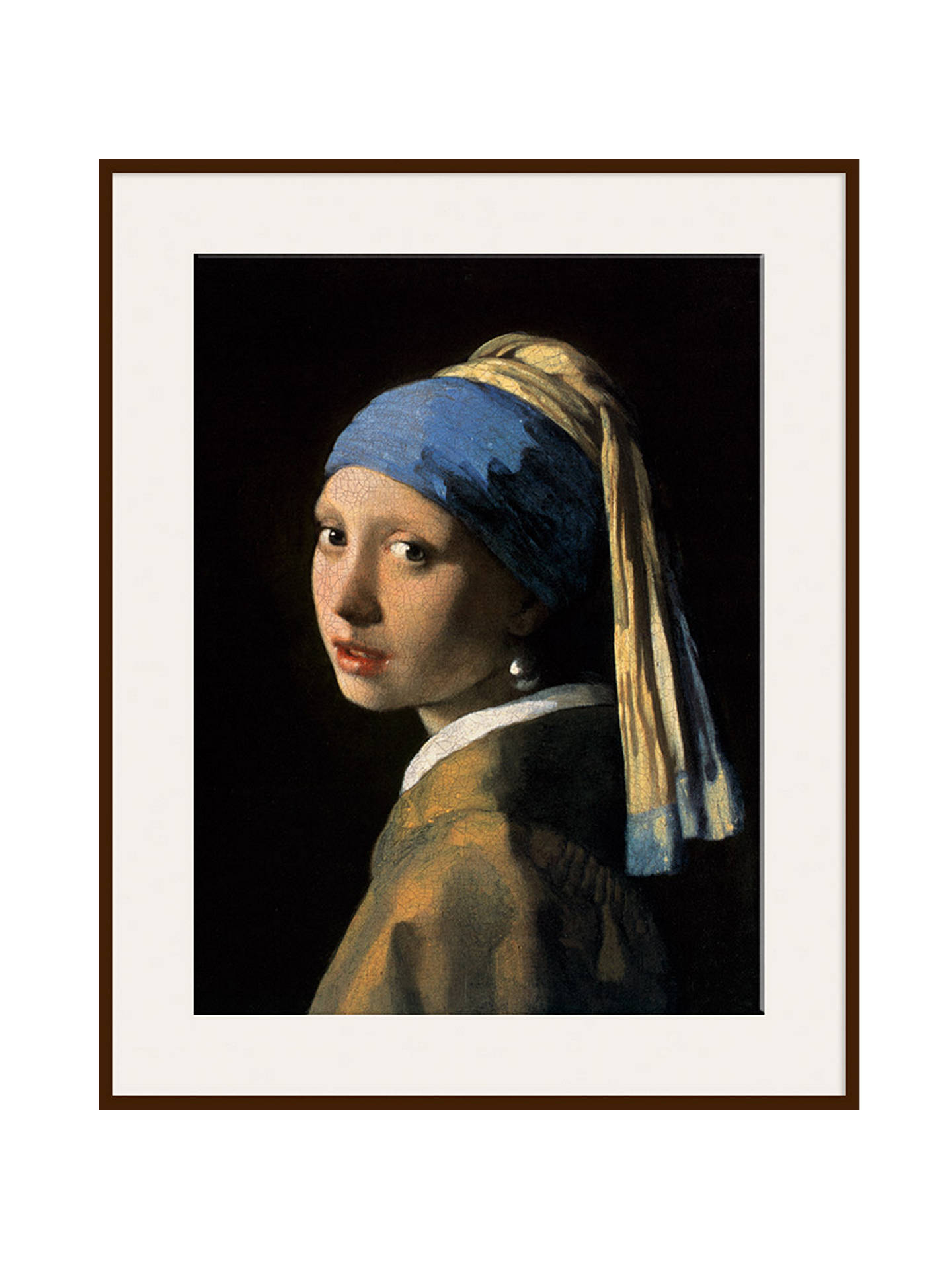 76e0919587d Johannes Vermeer - Girl with a Pearl Earring at John Lewis   Partners