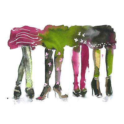 Image of Bridget Davies - Glamorous Legs