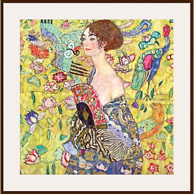 Gustav Klimt – Lady with Fan