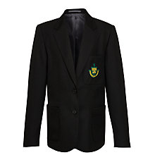 Buy Stanborough School Girls' Senior Blazer, Black Online at johnlewis.com