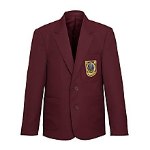 Buy Woodhill School Boys' Blazer, Maroon Online at johnlewis.com