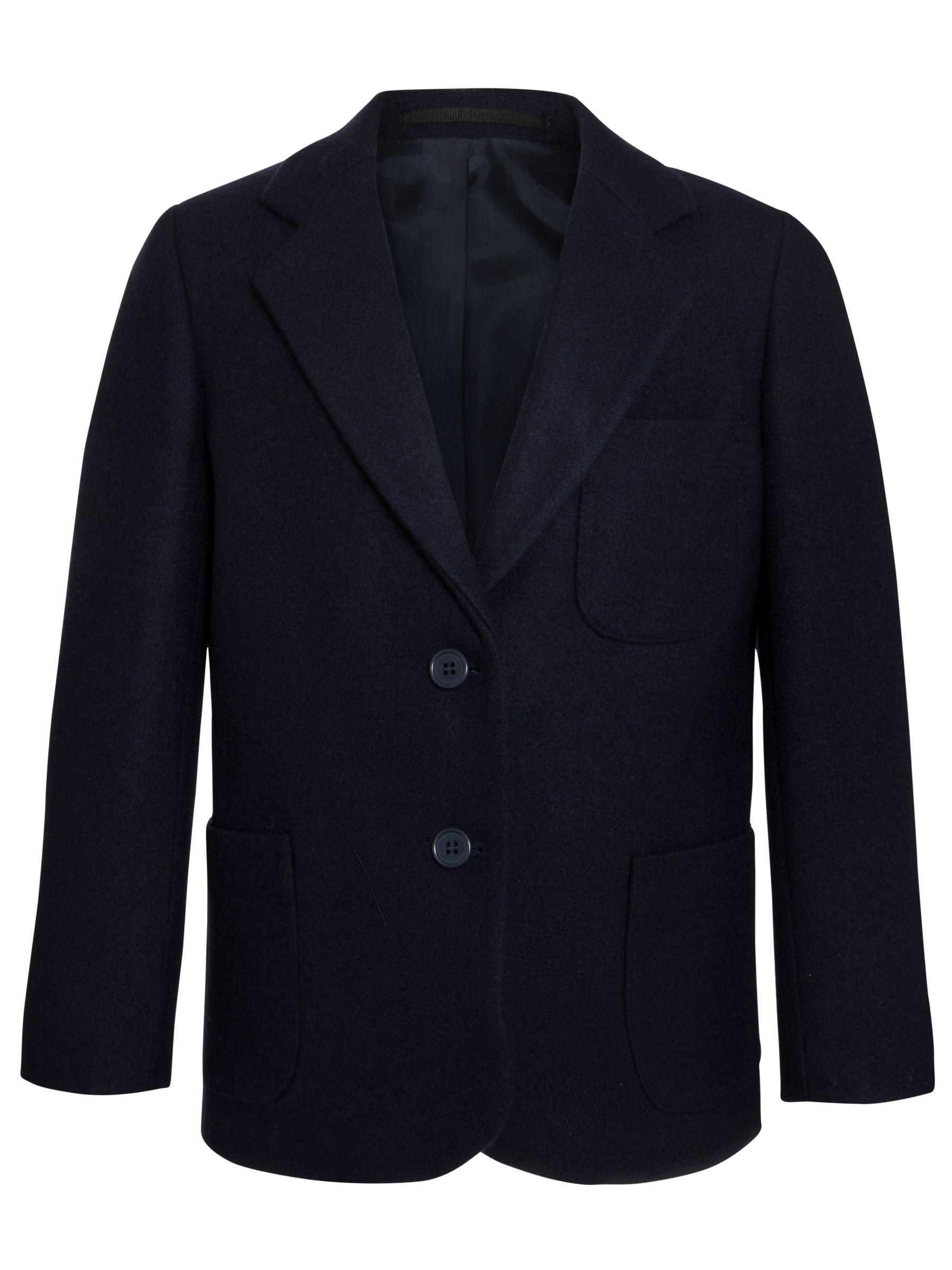 """97cm//38"""" Ex John Lewis stunning Woman's//girls Royal 100/% wool Blazer size 16"""