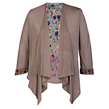 Buy Chesca Printed Shrug, Stone Online at johnlewis.com