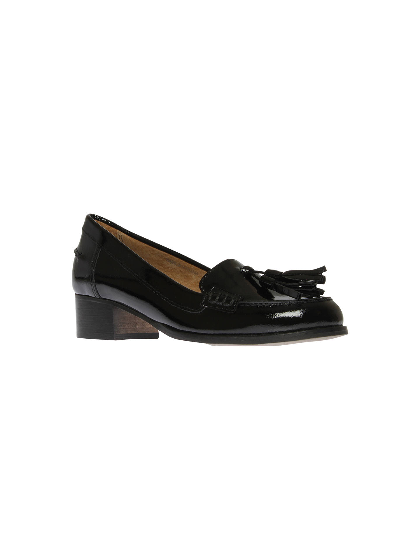 a38aec103e24 Buy Carvela Lexie Tassel Patent Leather Block Heel Loafers