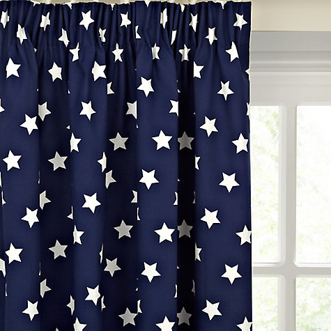 Blackout Curtains boys blue blackout curtains : Blackout Lined | Ready Made Curtains & Voiles | John Lewis