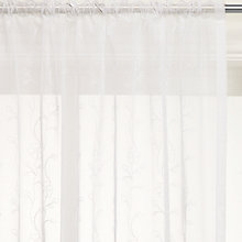 Buy John Lewis Mini Floral Trail Slot Top Voile Panel Online at johnlewis.com