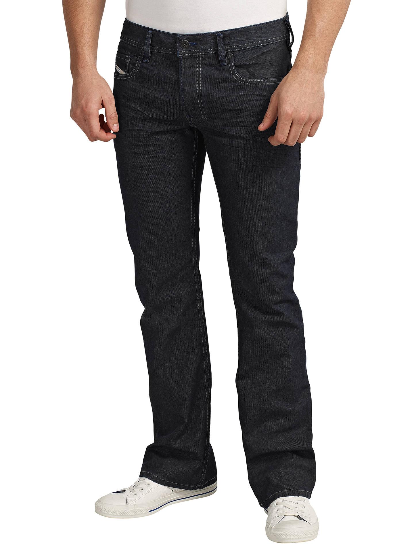 fbe78bb286a Buy Diesel Zatiny Bootcut Jeans, Blue 88Z, 32L Online at johnlewis.com ...