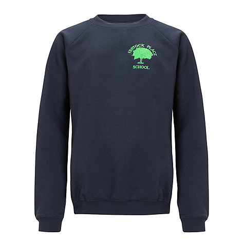 Buy Ibstock Place School Sweatshirt, Navy | John Lewis