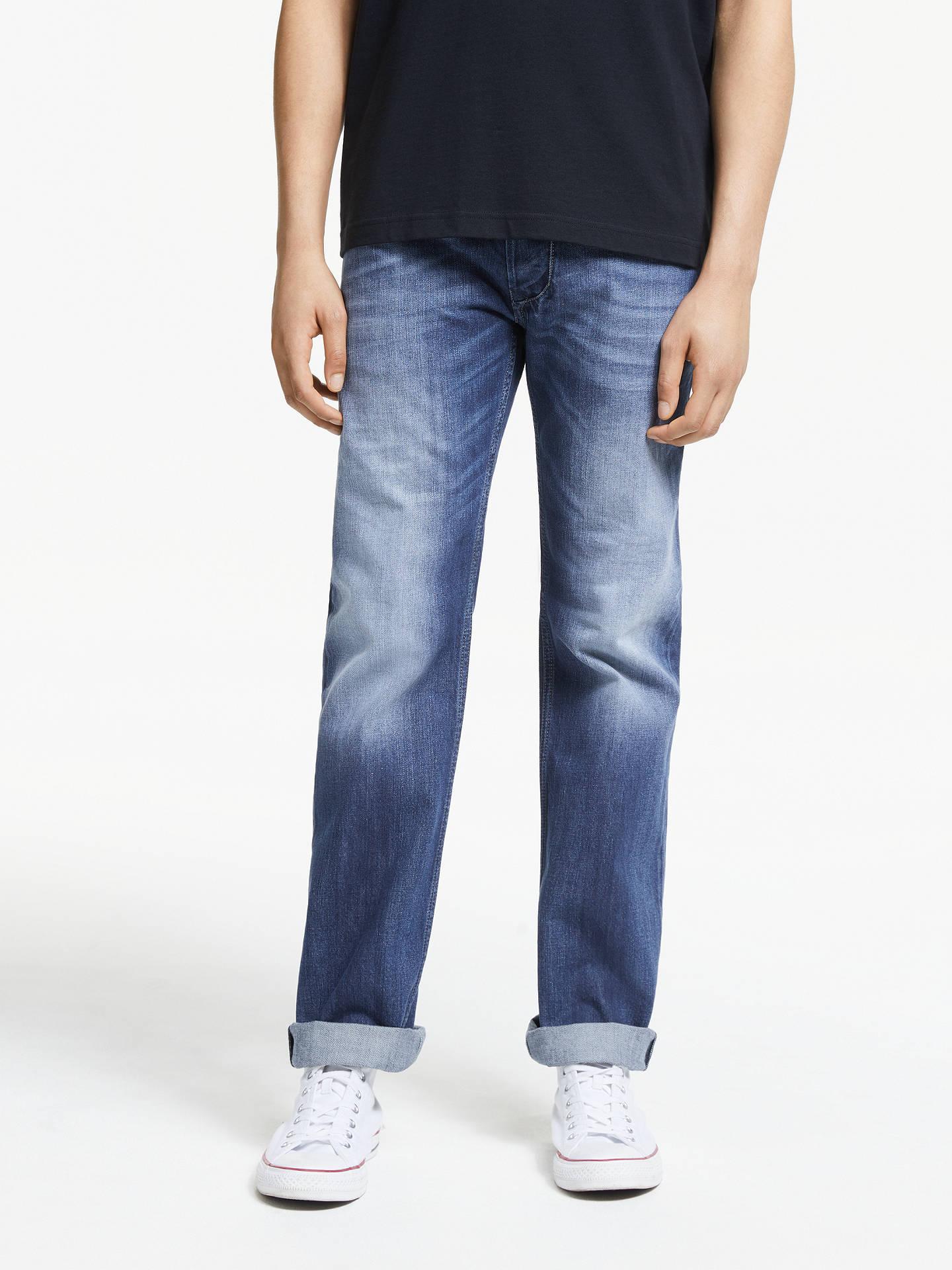 1226c062bc7c8 Diesel Larkee Straight Jeans, Blue 8XR