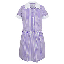 Buy School Girls' Striped Summer Dress Online at johnlewis.com