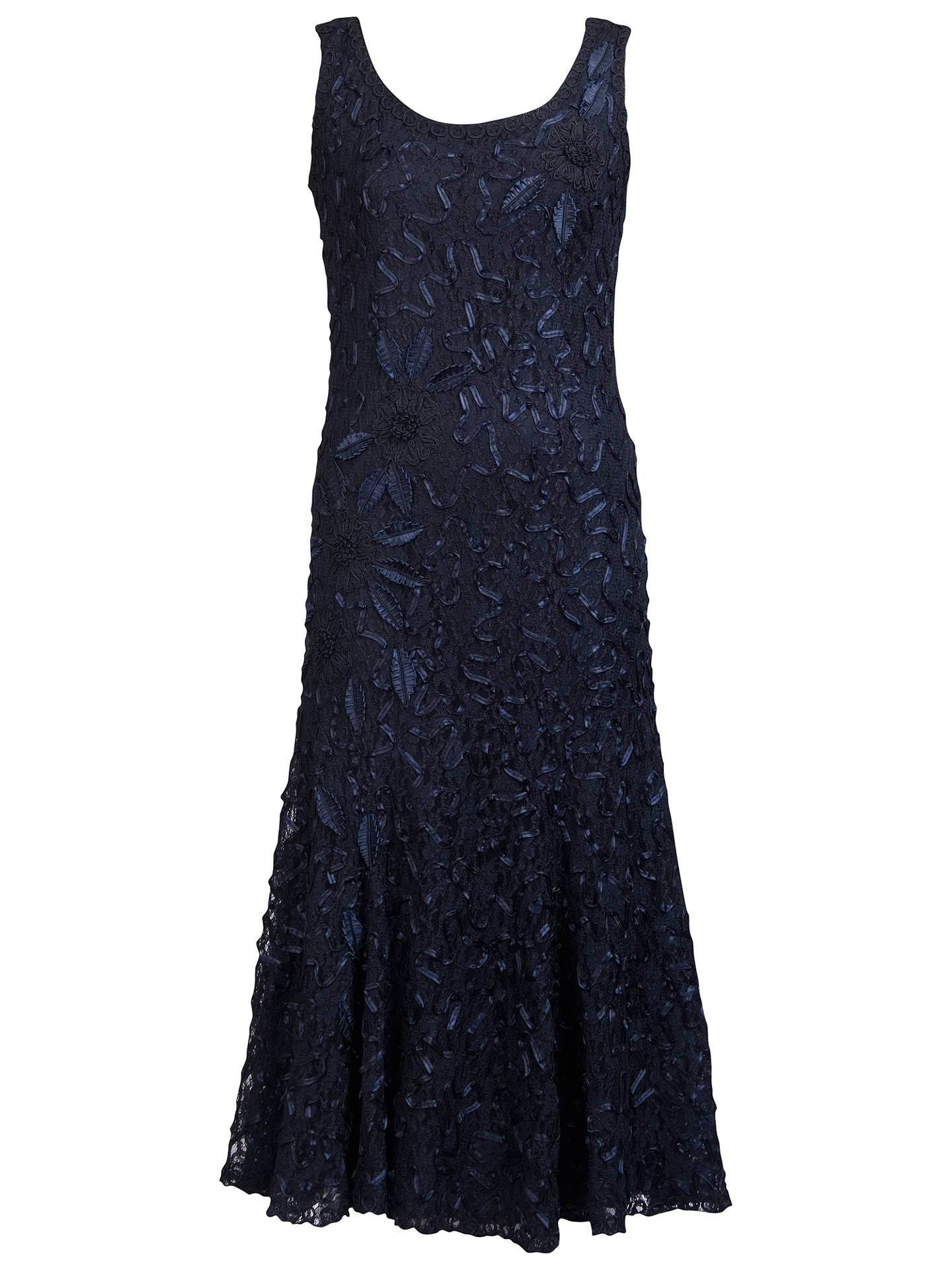BuyChesca Cornelli Lace Dress, Navy, 12 Online at johnlewis.com