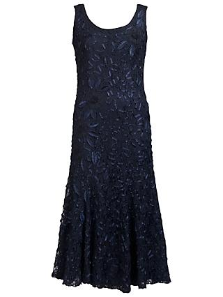 Chesca Cornelli Lace Dress, Navy