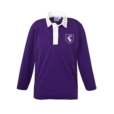 Image of Daiglen School Long Sleeved Football Shirt, Purple