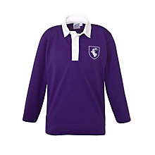 Buy Daiglen School Boys' Long Sleeved Football Shirt, Purple Online at johnlewis.com