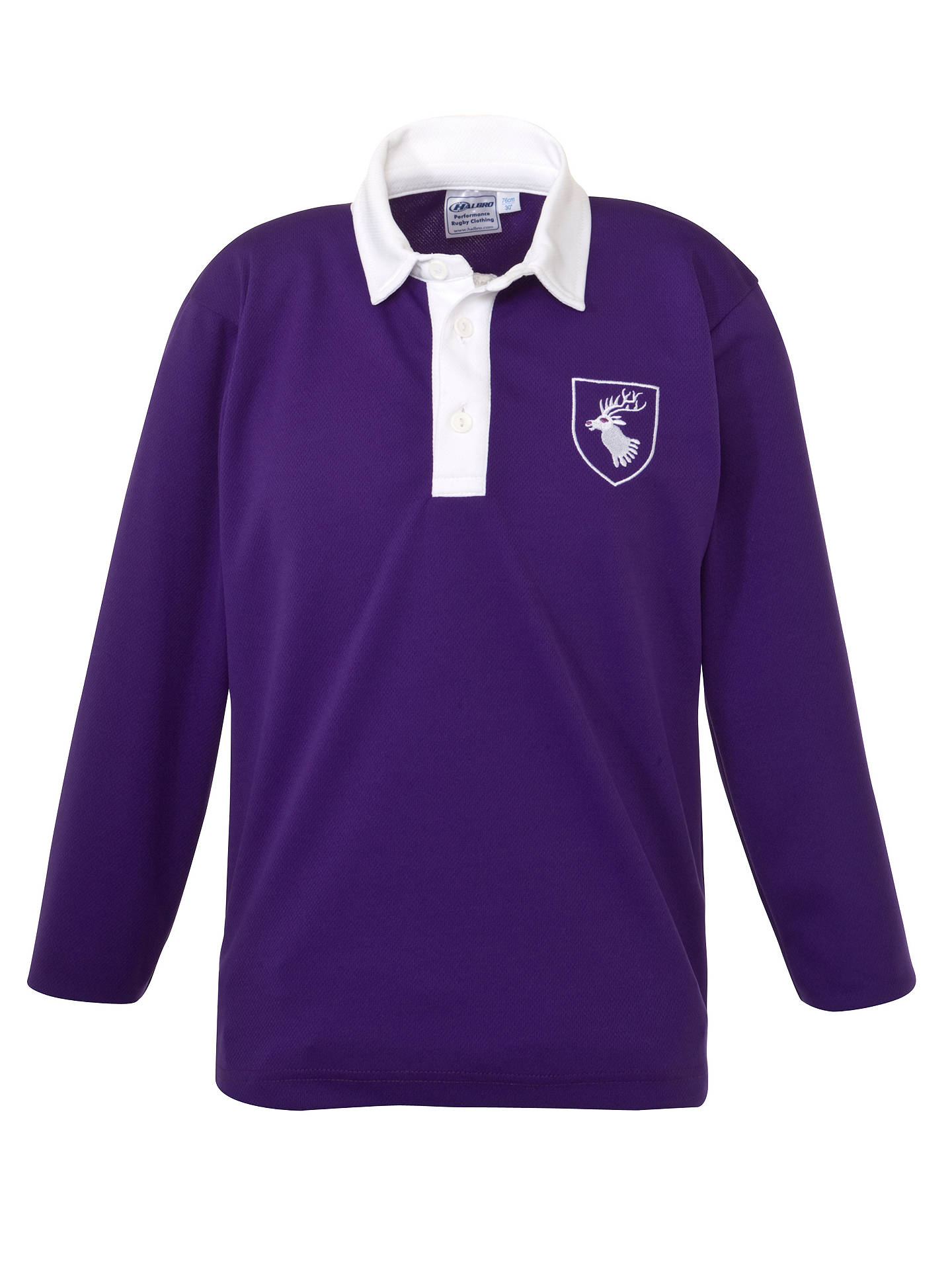 Daiglen School Long Sleeved Football Shirt Purple At John Lewis