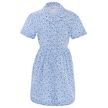 Buy Milverton House School Girls' Summer Dress, Blue/White Online at johnlewis.com