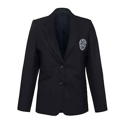 Product photo of Ibstock place school girls blazer navy