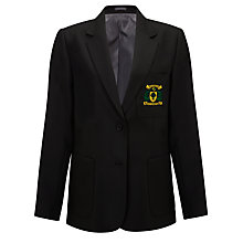 Buy Woodbridge High School Girls' Blazer, Black Online at johnlewis.com
