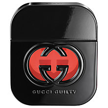 Buy Gucci Guilty Black Pour Femme Eau de Toilette, 50ml Online at johnlewis.com