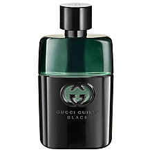 Buy Gucci Guilty Black Pour Homme Eau de Toilette, 50ml Online at johnlewis.com
