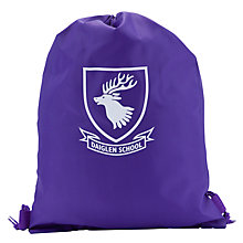 Buy Daiglen School Unisex Swimming Bag, Purple Online at johnlewis.com