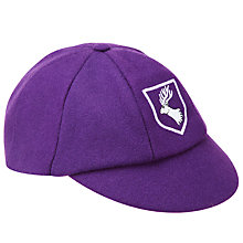 Buy Daiglen School Boys' Cap, Purple Online at johnlewis.com