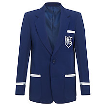 Buy Milverton House School Boys' Blazer, Royal Blue Online at johnlewis.com