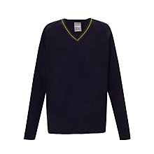 Buy Sherrardswood School Unisex Jumper, Navy Online at johnlewis.com