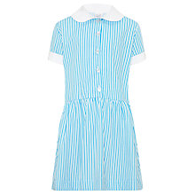 Buy Sherrardswood School Girls' Striped Summer Dress, Blue/White Online at johnlewis.com