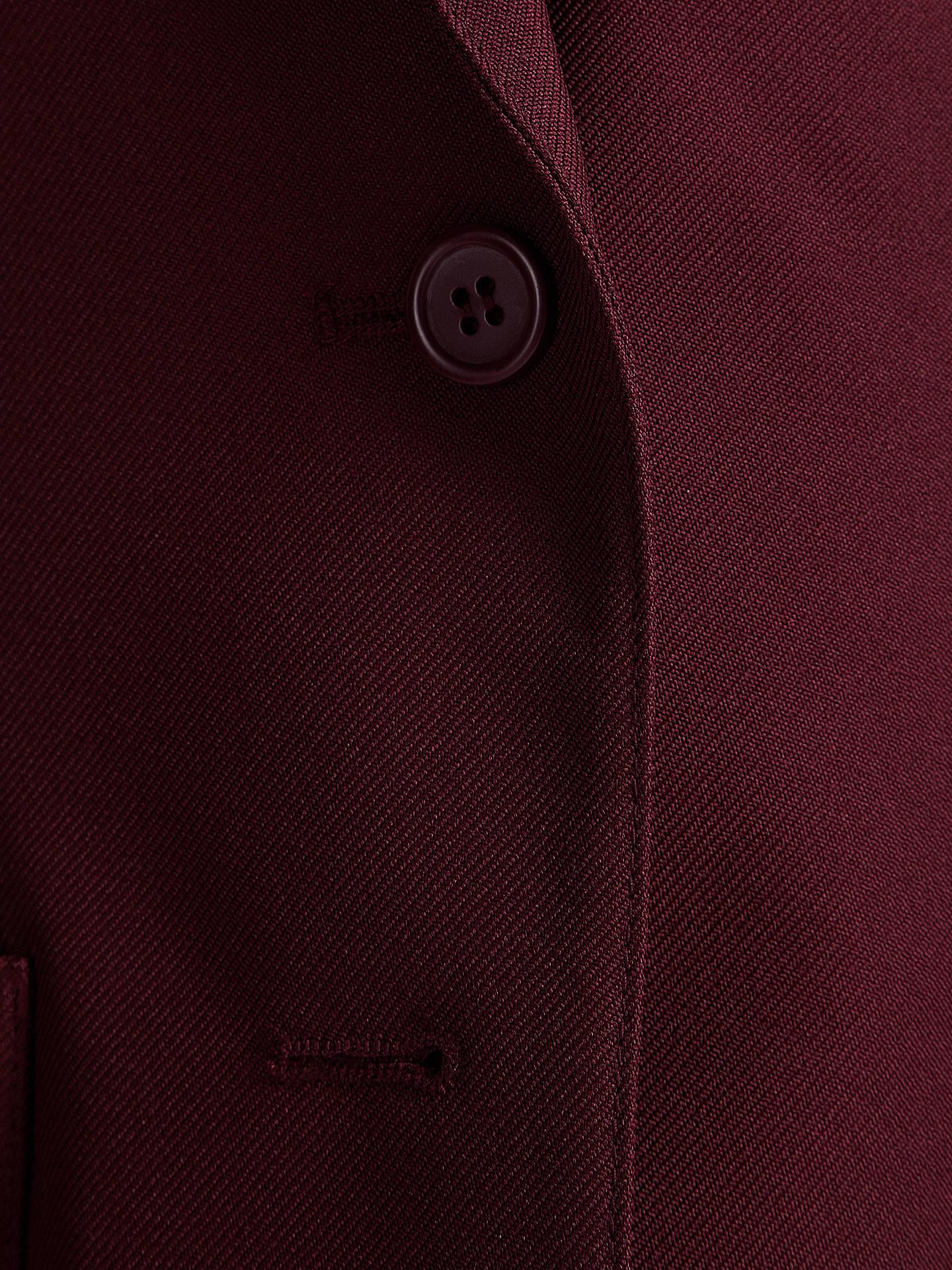 74cm = 29 Girls Maroon Polyester School Blazer