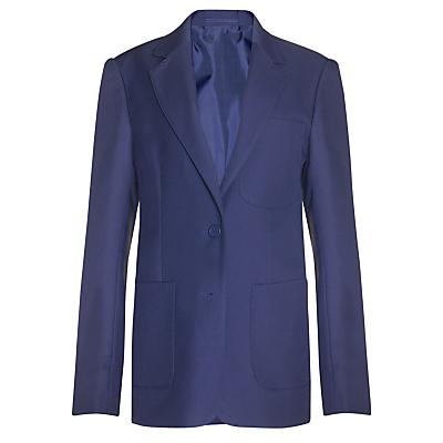 Product photo of John lewis girls school eco blazer royal blue