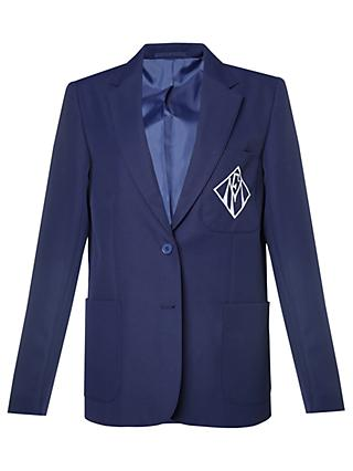 Maria Fidelis Catholic School Girls' Blazer, Royal Blue
