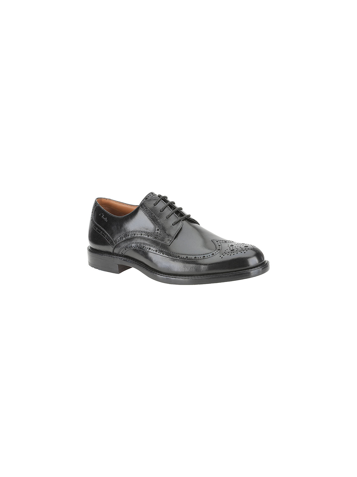 73bb182f740 Buy Clarks Dorset Limit Leather Brogue Derby Shoes